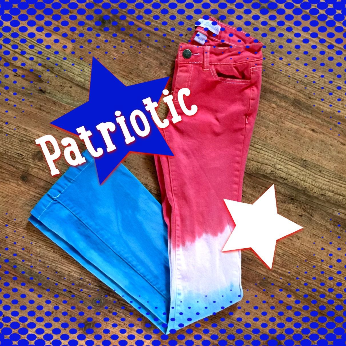Patriotic adult jeans ranch dress 39 n me pinterest for Ranch dress n rodeo shirts