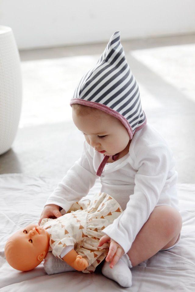 Pixie Baby Bonnet Pattern | Sewing Projects | Pinterest | Bebe ...