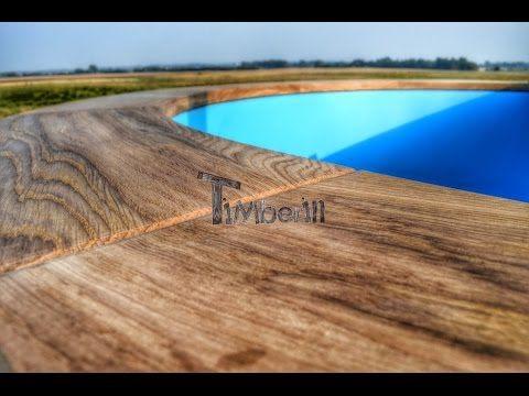 Wood Burning Hot Tub Luxury Siberian Oak Design Timberin
