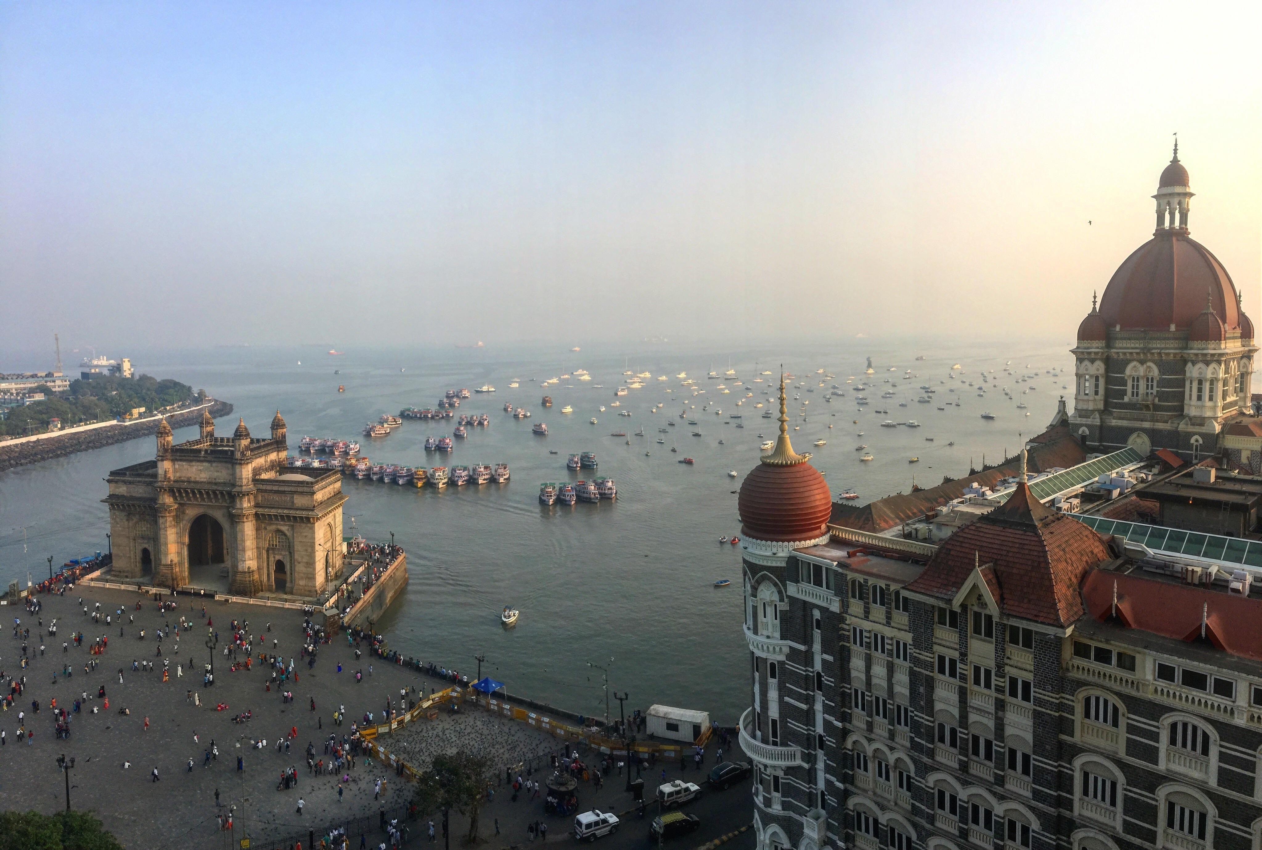 View From The Taj Mahal Palace Hotel In Mumbai Travel Ttot