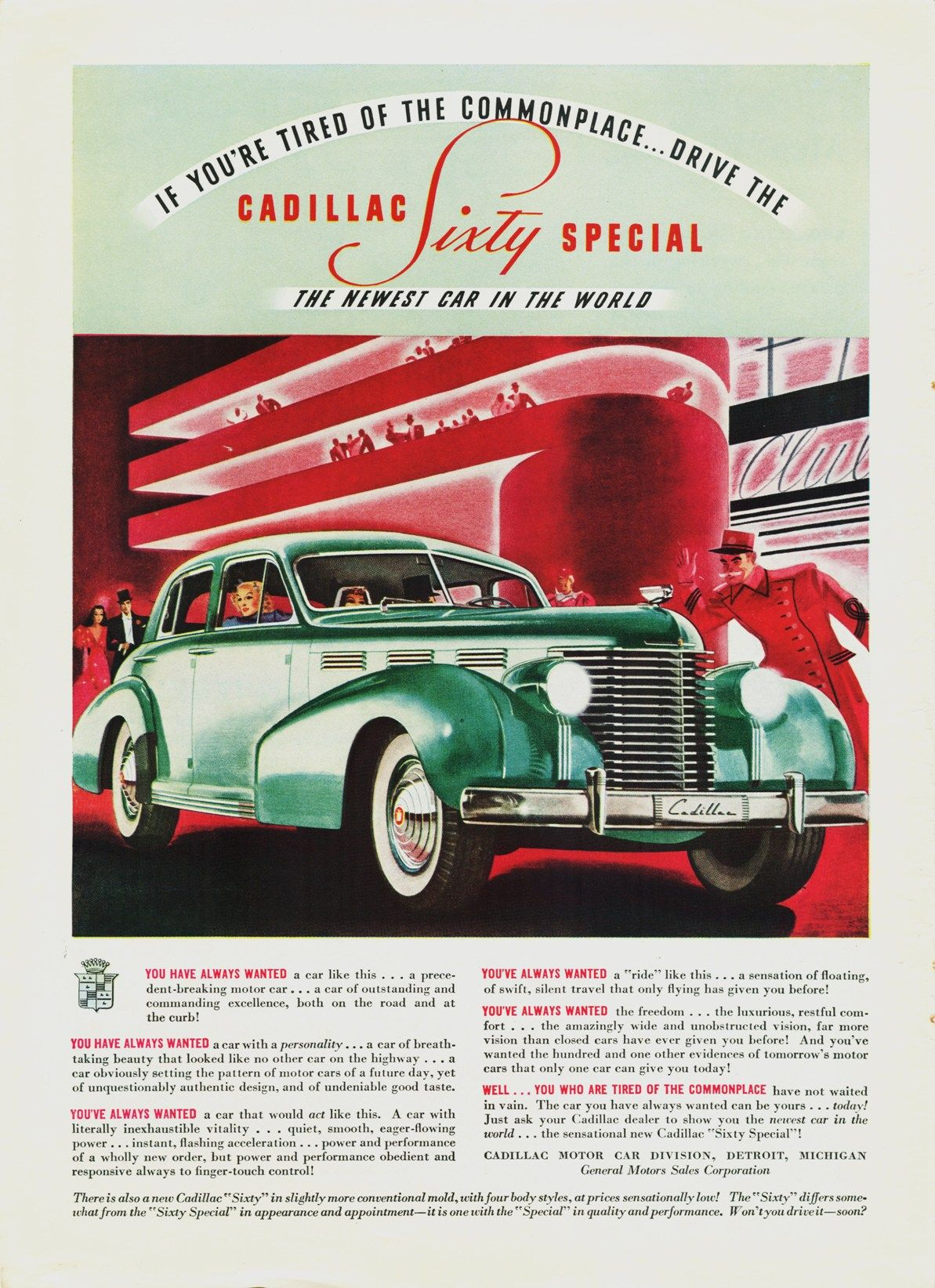1938 Lasalle | old car ads home | old car brochures | old car ...