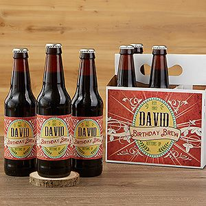 Personalized Beer Bottle Labels - His Brew - Party Gifts