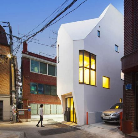 Galmuri Office Building – 'Horn' by ThePlus Architects, Seoul