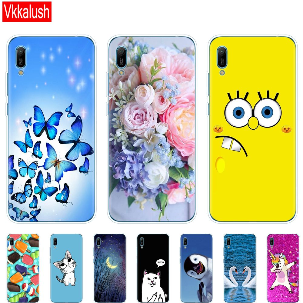 Special Offer of Huawei y6 2019 Case Huawei Y6 2019 Silicon TPU ...