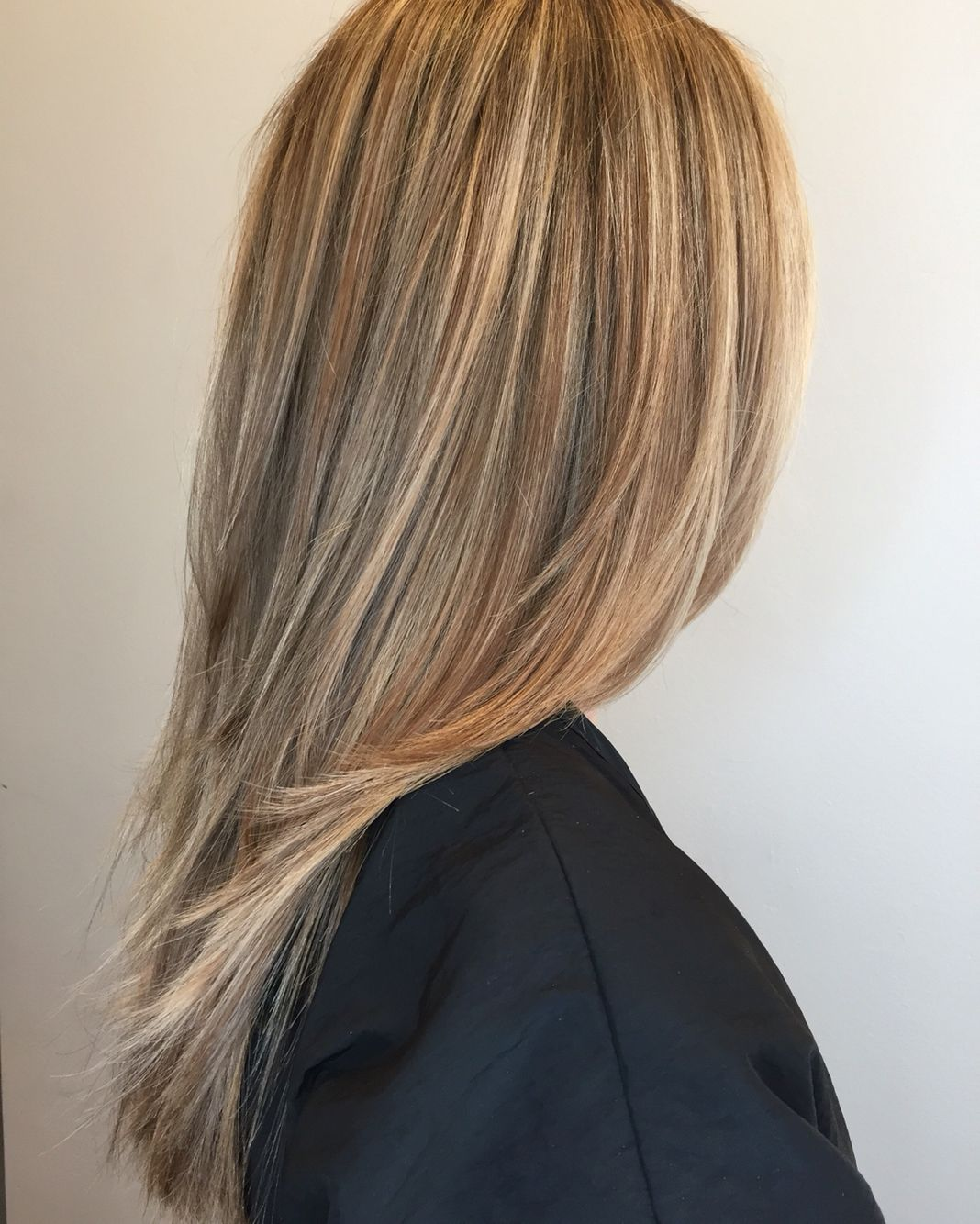 Blonde Baby Highlights Medium Color To Soften And Balayage