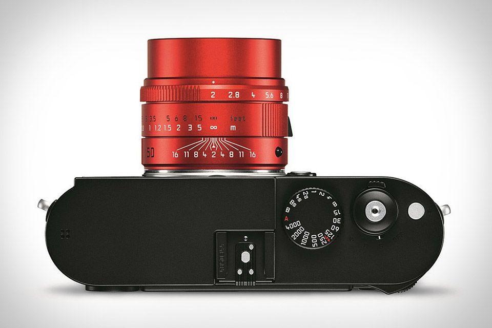 Leica Red Summicron 50mm Lens