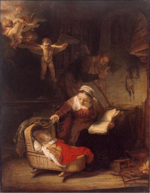 Άννα Αγγελοπούλου: Τα Χριστούγεννα στη ζωγραφική