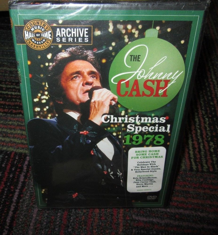 The johnny cash christmas special 1978 dvd, man in black & biggest ...