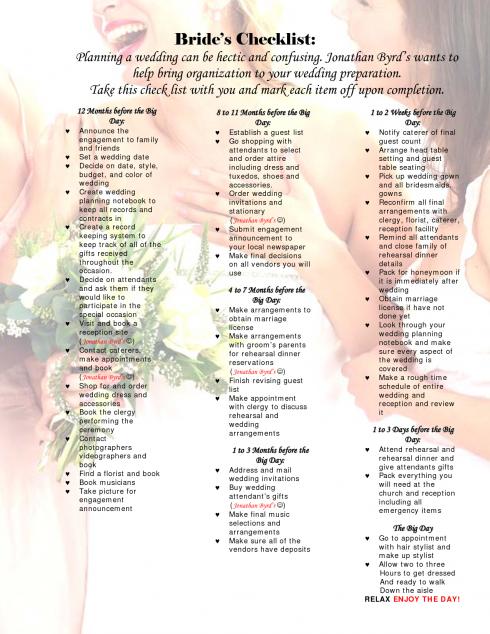 wedding budget checklist swanky weddings