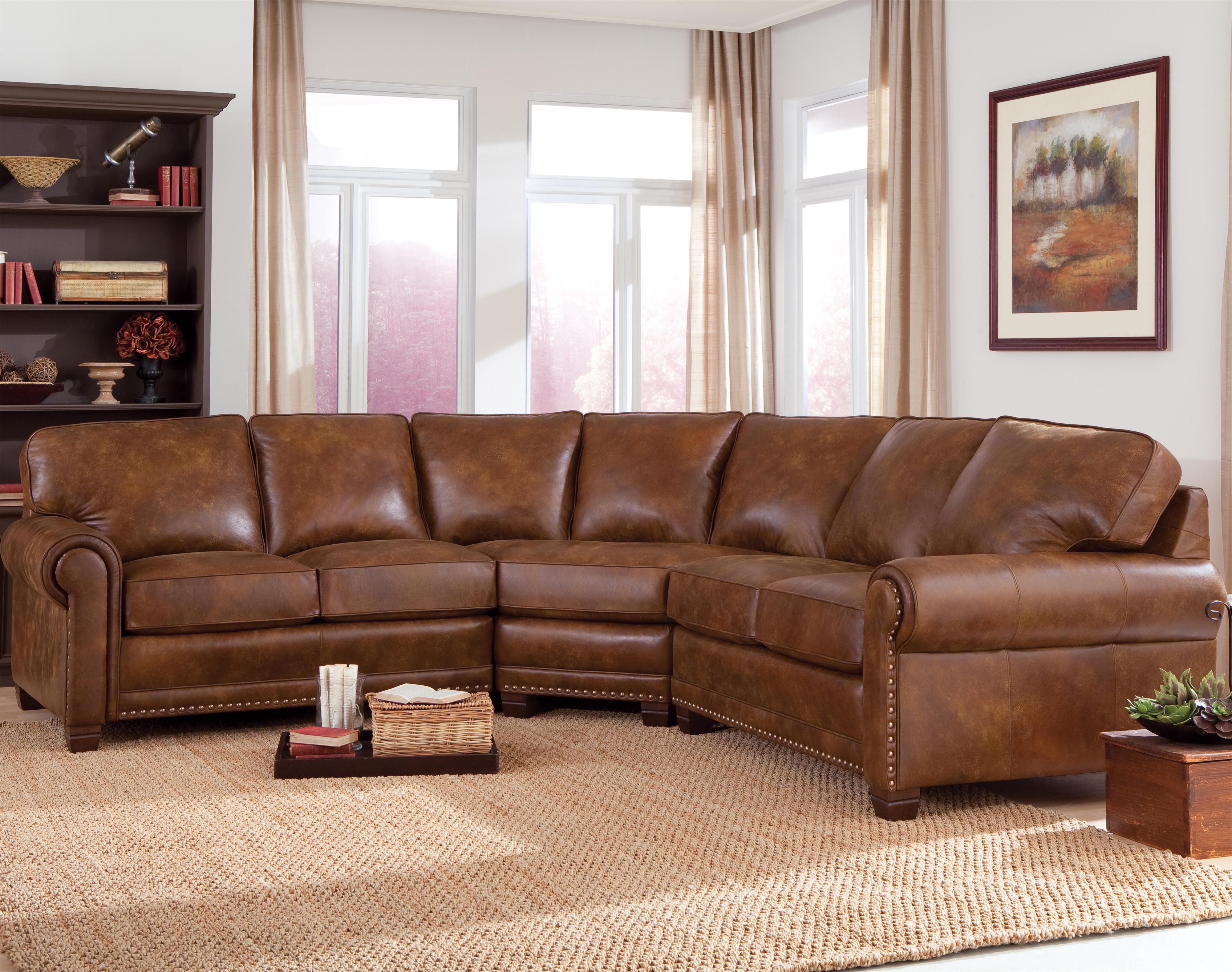 Nice Amazing Curved Leather Sectional Sofa 16 For Home