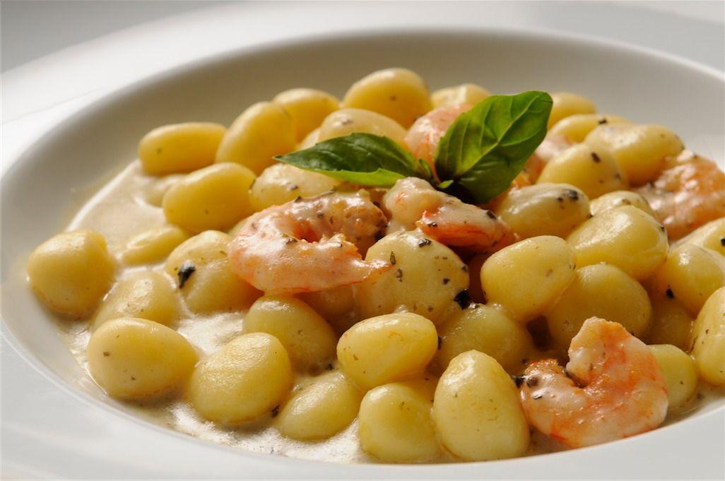 Gnocchetti gamberi e tartufo - al Ristorante Peccato Originale - Fiumicino/Roma. http://www.urbis360.com/ristorante-peccato-originale/