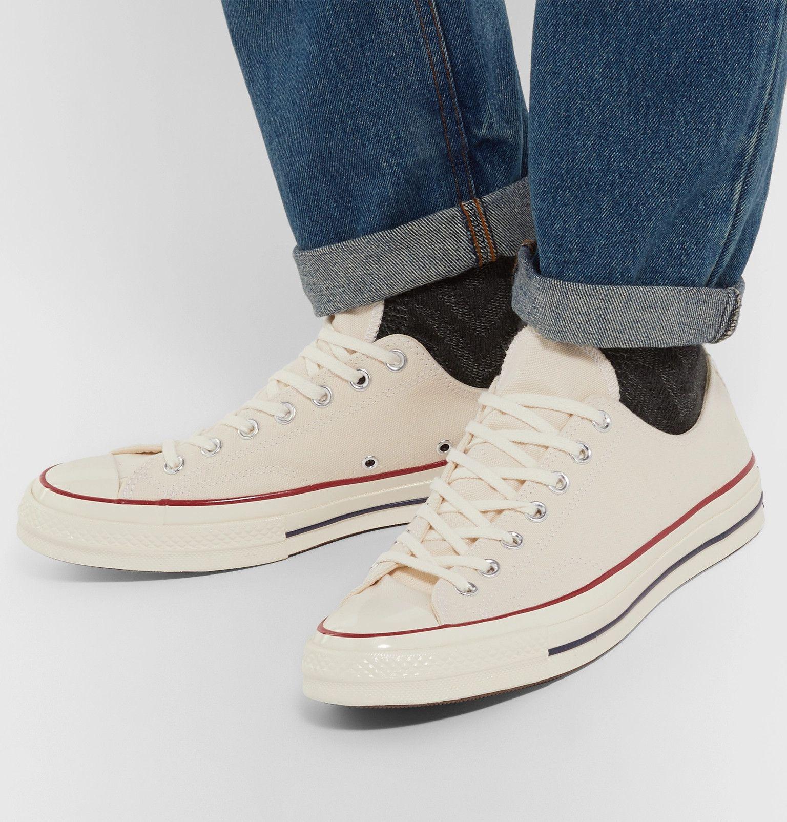 CONVERSE CHUCK 70 CANVAS SNEAKERS. #converse #shoes