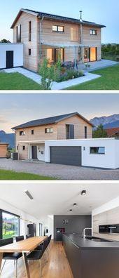 Photo of # außenküche #Modernes #Einfamilienhaus #Garage, #Satteldach Mode