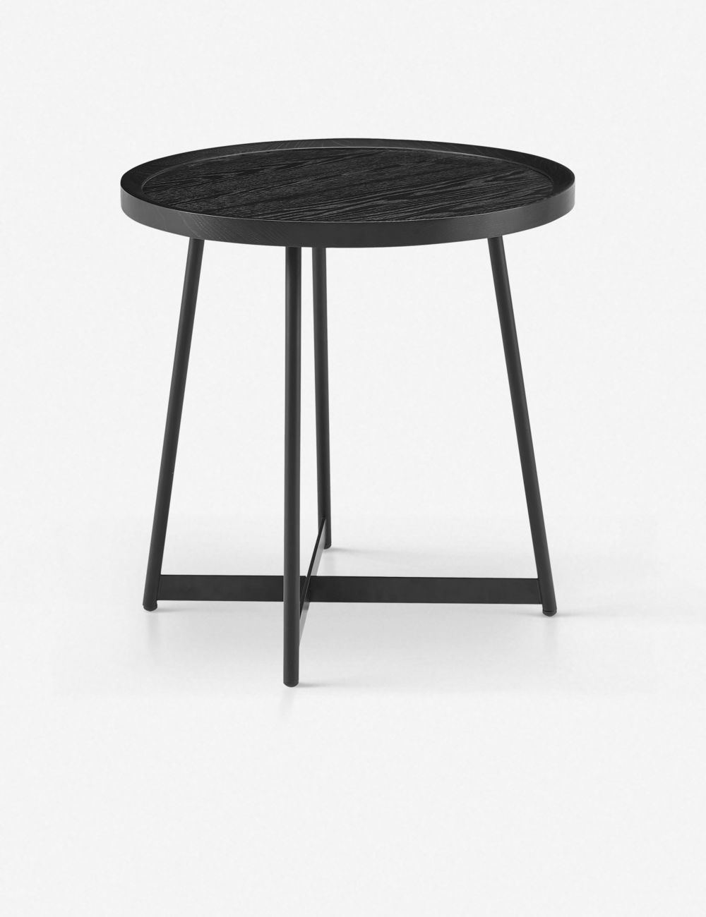 Gweneth Side Table Black Ash In 2020 Black Side Table Side Table Living Room Side Table