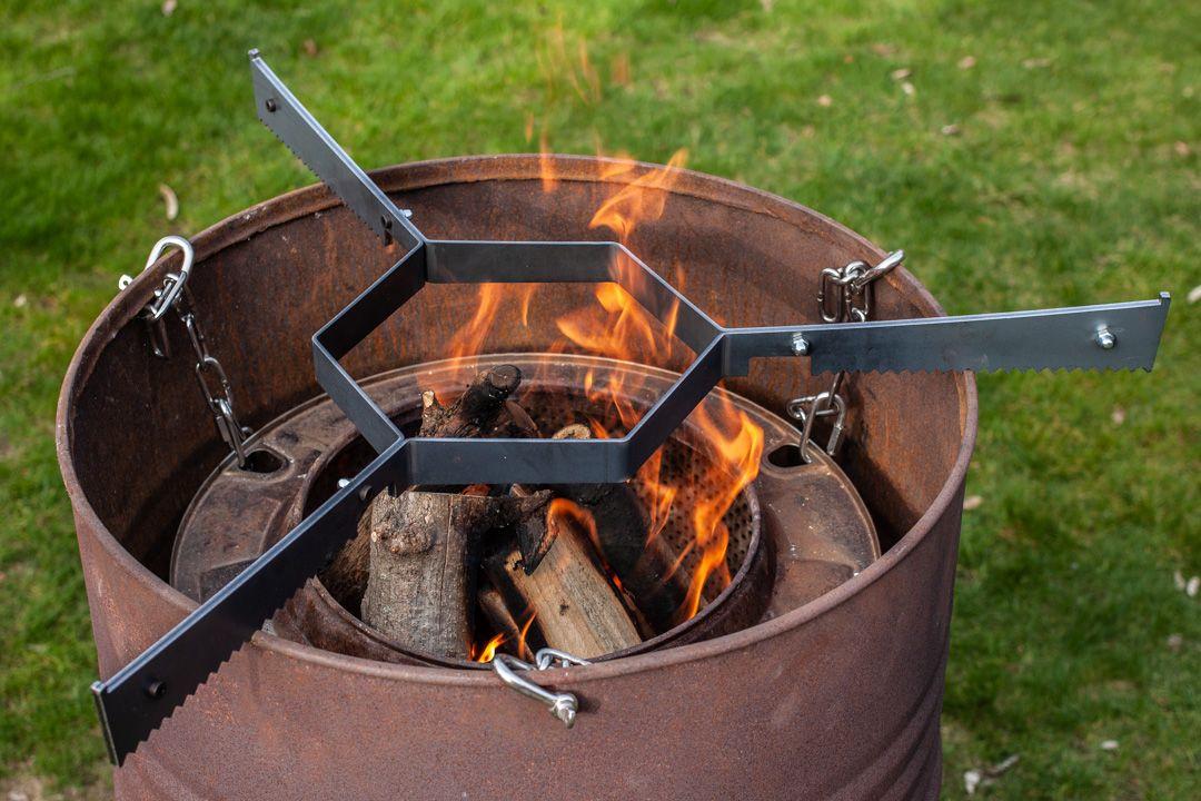 Aufbau Einer Feuertonne Mit Feuerplatte Futterattacke De Feuertonnen Feuerplatte Grill Selber Bauen