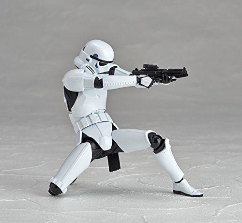 "Yamaguchi Kaiyodo Revoltech Stormtrooper Darth Vader 6/"" Star Wars Action Figure"