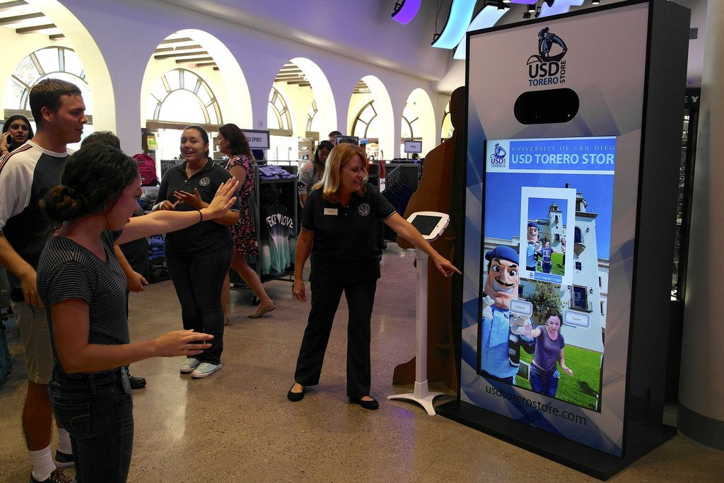 Wss For Kiosks Is Being Utilized In The The University Of San Diego