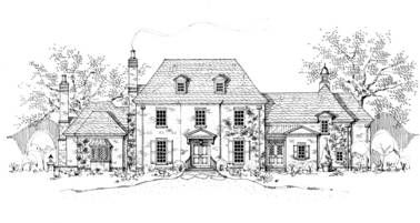 Cotswold Manor Cotswold House Cottage House Plans English Cottage