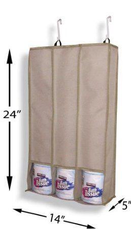 Amazoncom Over Door Toilet Paper Roll Holder Home Kitchen