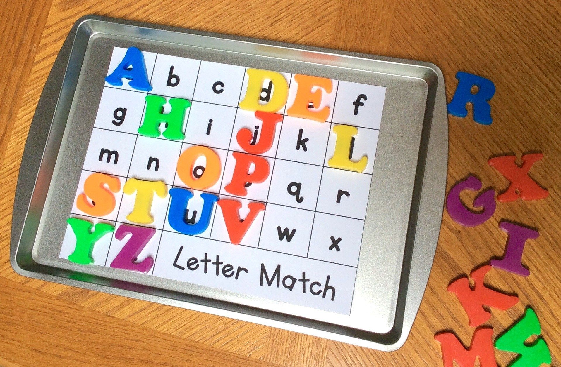 Engaging Ways To Practice Amp Assess Alphabet Letters