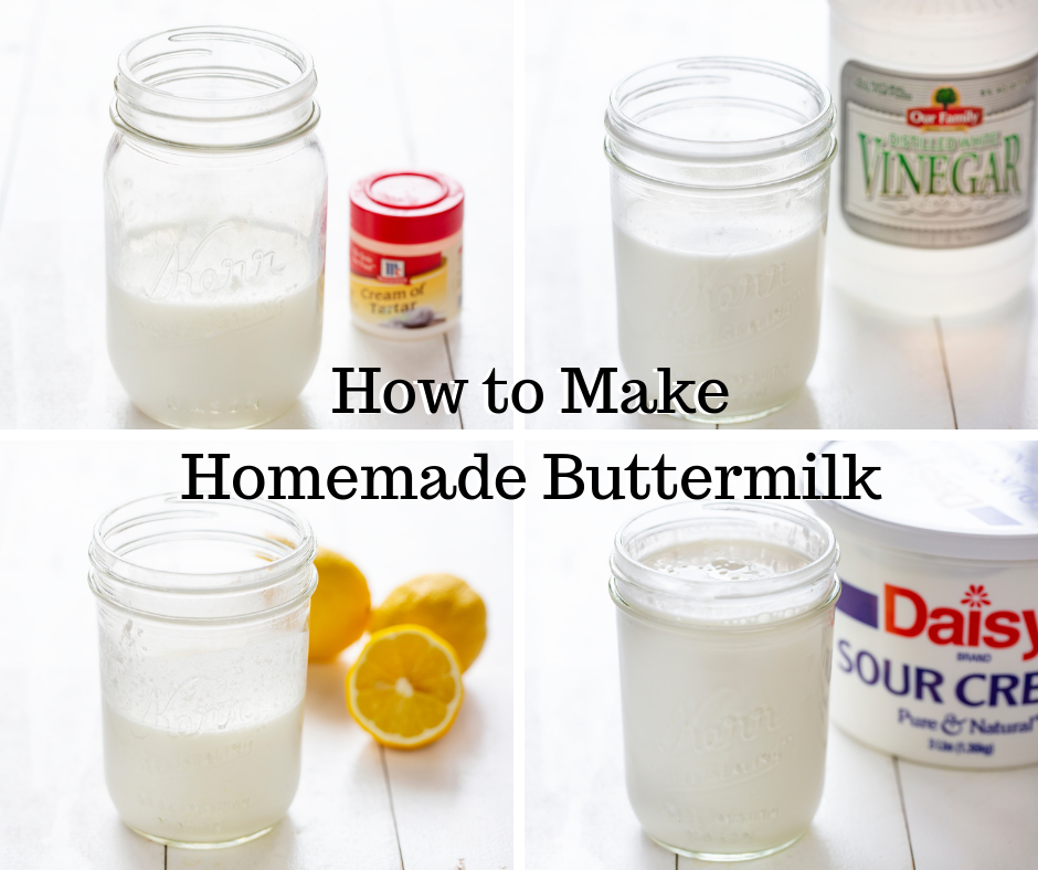 Here Are 4 Different Ways To Make Buttermilk At Home Think You Can Guess Which One Works The B Homemade Buttermilk How To Make Buttermilk Buttermilk Recipes