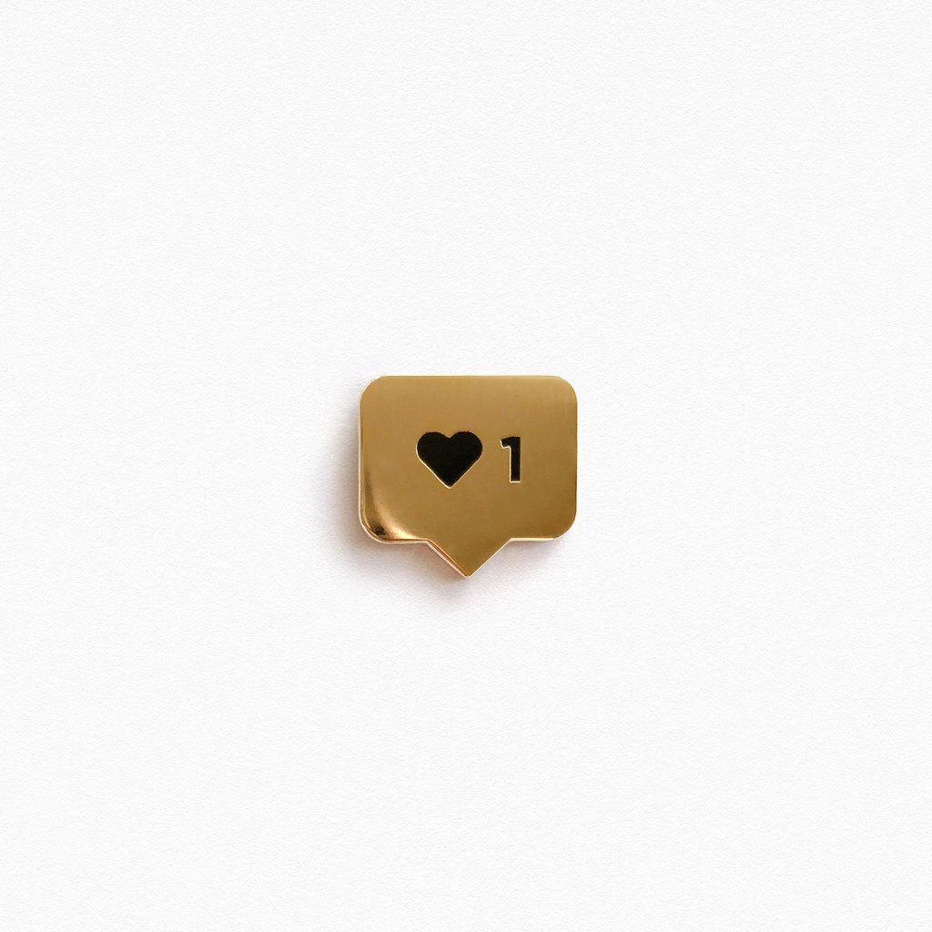 Instalike Pin (Gold)