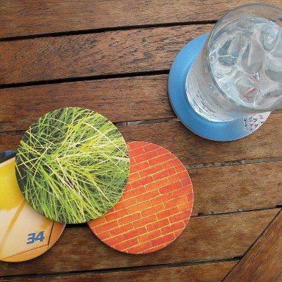 crafty ideas modern coasters. Craft ideas  Instagram coasters DIY Pinterest