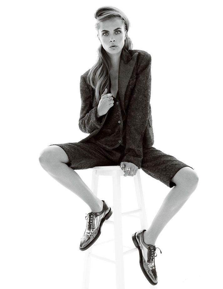 Happy Birthday Cara Delevingne!Photographed by Adam Whitehead for Vogue Türkiye, 2011.Stylist: Mary Fellowes.