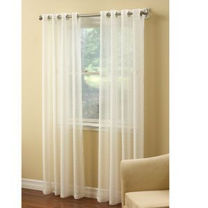 Montauk Grommet Sheer Panel Collection Boscov S Sheer Drapery