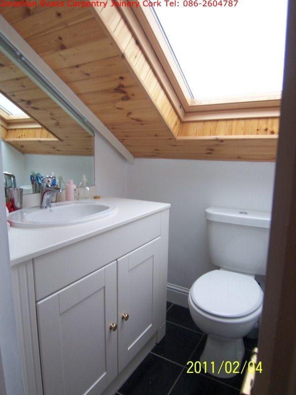 Small Attic Half Bath Addition Attic Renovation Attic Remodel Attic House