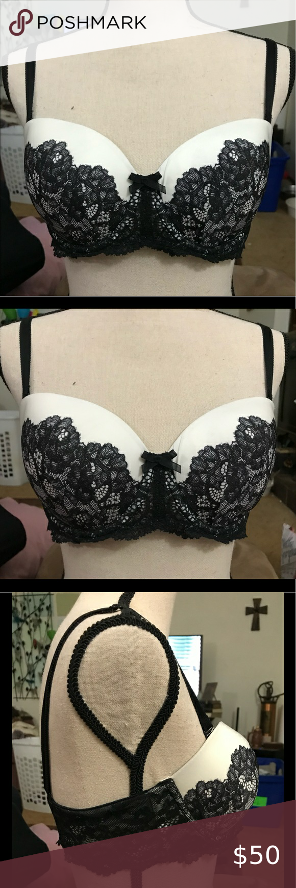 Dream Angels Bra VS Bra.  Dream Angels Multi-way.  Near perfect condition.  Size 36C. EUC. B1   We enjoy keeping certain brands/styles in our closet.  Please check our listings for similar brands, styles, & sizes. 🤩Many of the items in my closet are used and show varying amounts of wear.  I provide pictures to review.Please feel free to ask, I will follow up pics/details etc.  Smoke free & pet friendly.🤩 Victoria's Secret Intimates & Sleepwear Bras