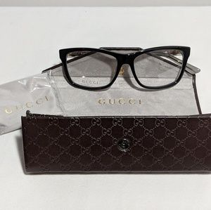 3eabc9bd653 Gucci GG3765 Black and Gold Glasses