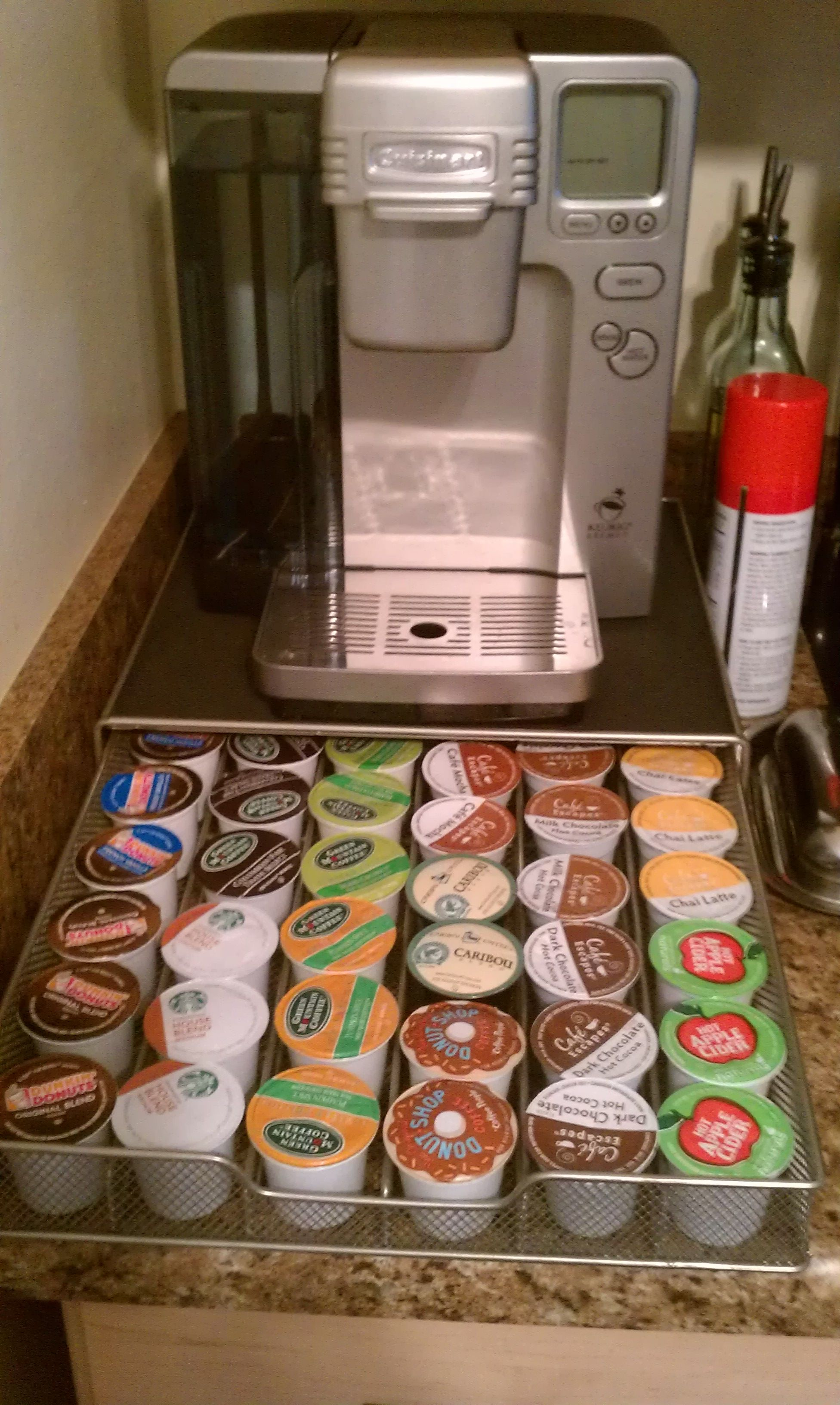 Hooray for kcup organization coffee pods drawer