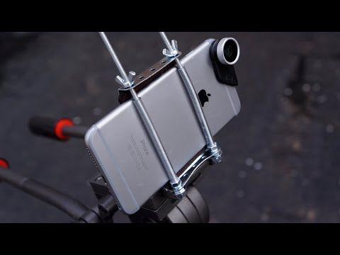 Mini MOD Monday: DIY Smartphone Tripod Adapter - YouTube ...