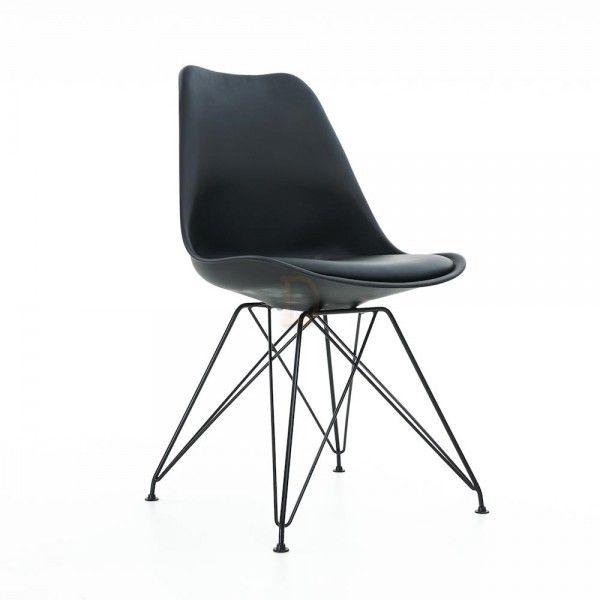 Essence Metall Stuhl In Schwarz Stühle Hocker Möbel Produkte