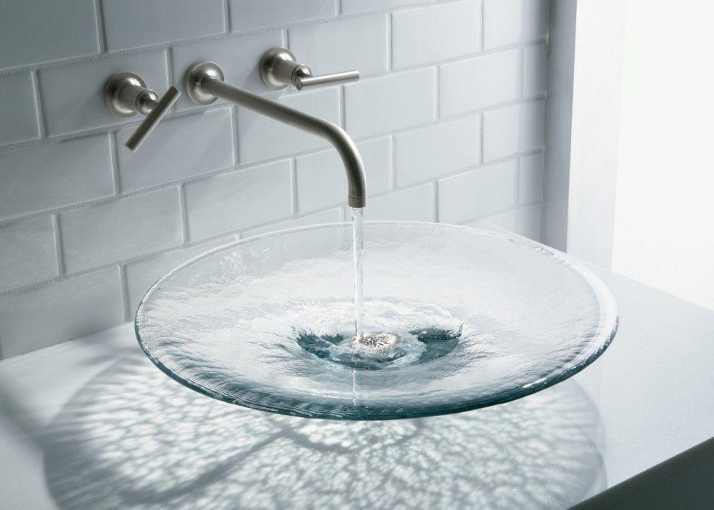 Artist Editions Bathroom Sink Gallery Kohler Ideas Glass Sink Glass Basin Glass Bathroom