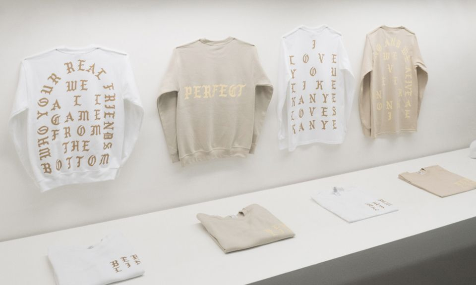 Kanye West S The Life Of Pablo Pop Up Shop In Berlin Kanye West Pablo Pablo Kanye West