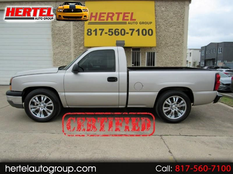 Certified 2006 Chevrolet Silverado 1500 Swb V6 For Sale Chevrolet Silverado Pickup Trucks For Sale Used Cars
