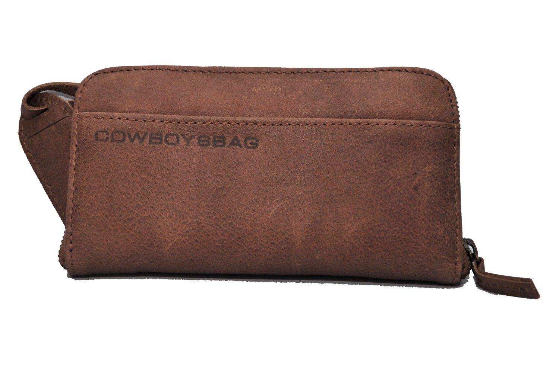 Cowboysbag The Purse 1304 Portemonnaie, Leder Geldbörse mit besonders viel Platz, Cognac, 20x11x2,5 cm (B x H x T) Leder Geldbörsen