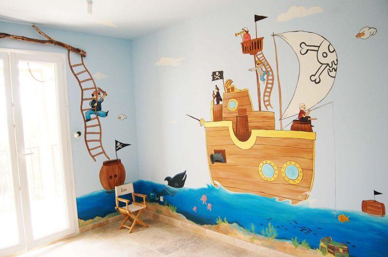 d co chambre pirate projets essayer pinterest pirate deco chambre et chambre pirate. Black Bedroom Furniture Sets. Home Design Ideas