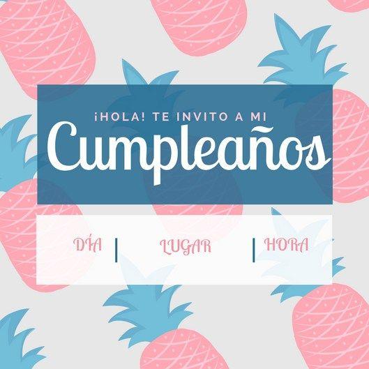 Invitaciones De Cumpleaños Gratis Más Invitaciones De