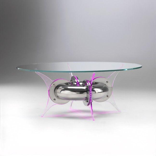 Vetro sagomato per tavolo www.lelicadeisogni.it | Tables, Shelves ...