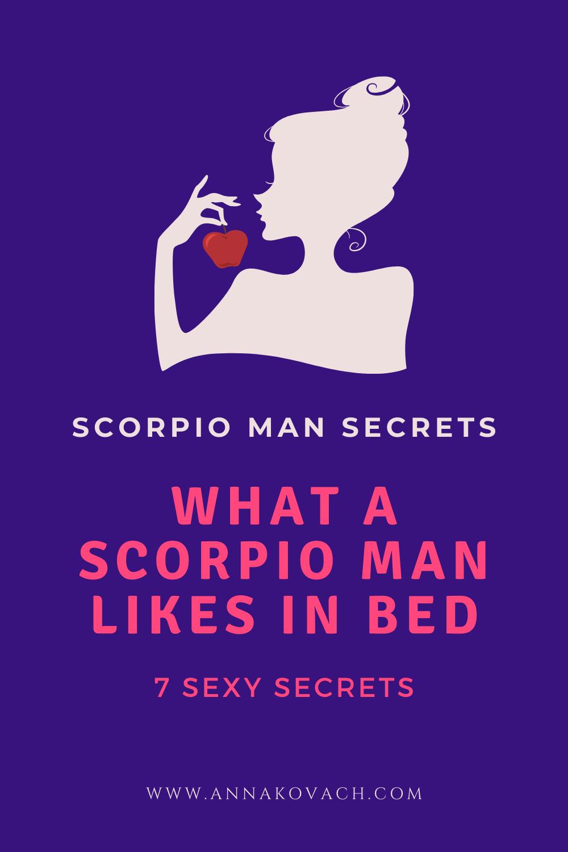 Scorpio man interested in me