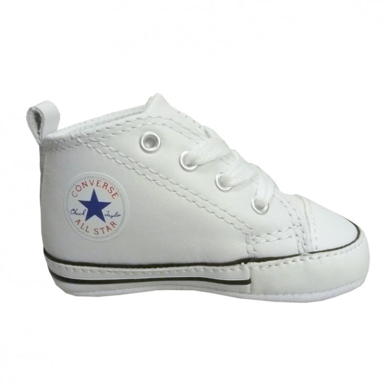 converse blanche taille 17