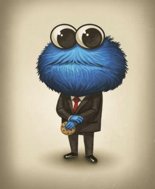 wall street cookie monster