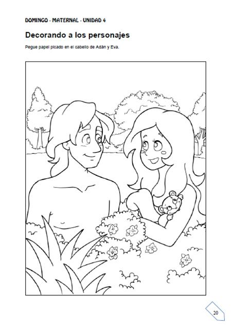 ME ABURRE LA RELIGIÓN: ACTIVIDADES ADÁN Y EVA | Biblia | Pinterest ...
