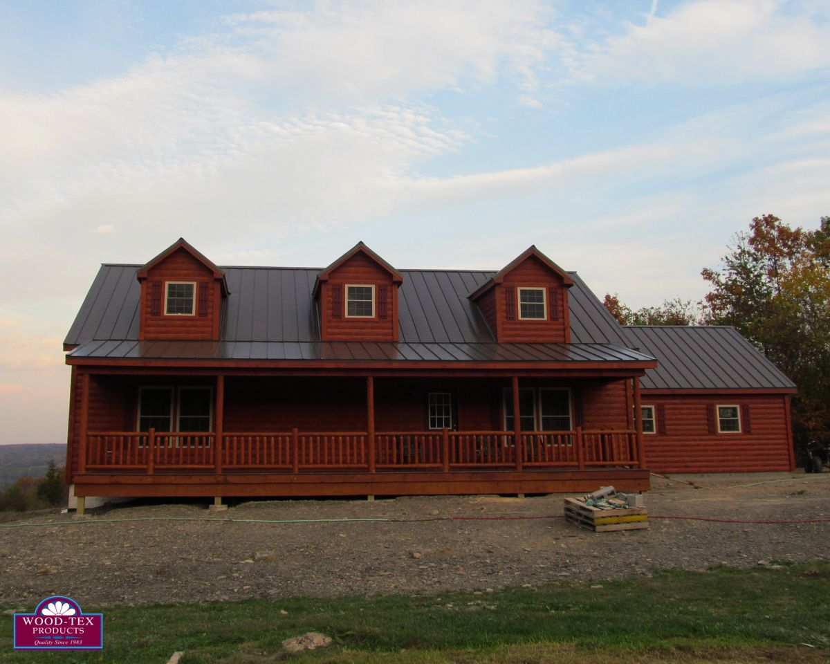 The Lanier Prefab Cabins And Modular Log Homes Wood