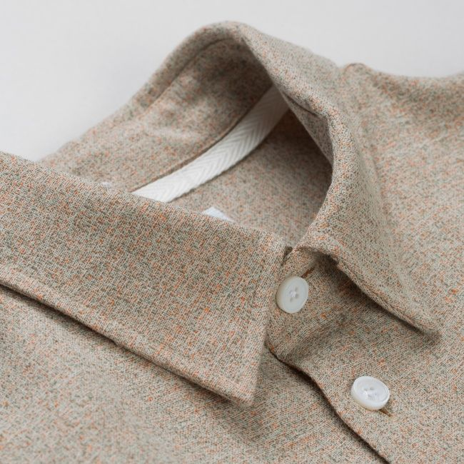 a063615ba8b Norse Projects Anton Speckled Cotton Linen Shirt (Ecru)