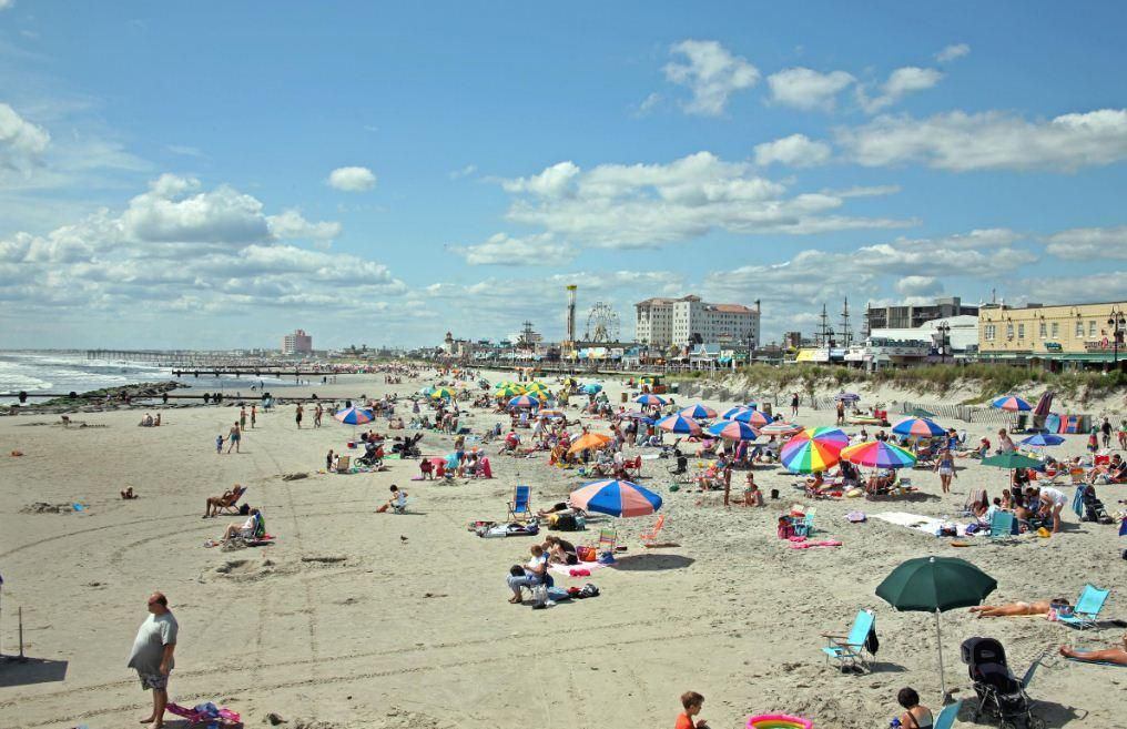 cape may nj beach   Enjoy the sun and sand at Cape Mays