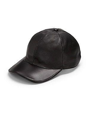 Gucci Leather Baseball Hat  3c6d3ca2d79